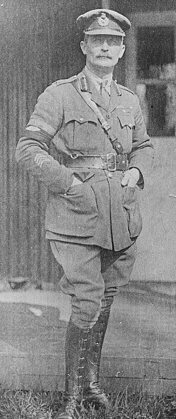 Ernest Swinton, first commander of the Heavy Section.