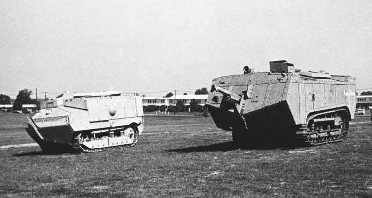 Tanks at Aberdeen Proving Ground