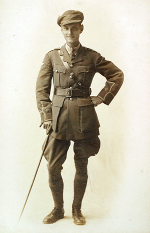 Second Lieutenant Herbert Chick