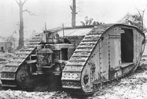 The Williams-Janney tank photographed from the rear at Dollis Hill, later in the war.
