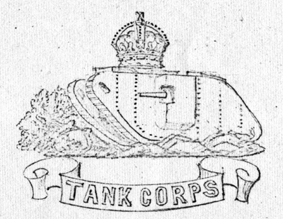 There were three main themes to the designs. One depicted this literally, with an image of the tank.