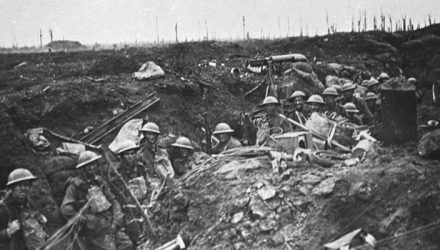 Infantry at Passchendaele