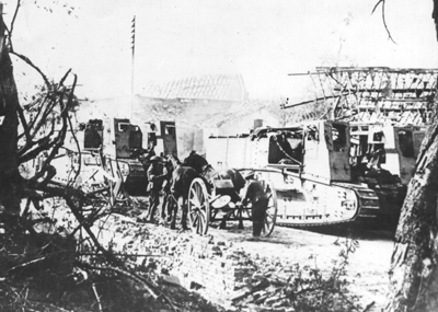 Gun Carriers, with their tails removed, in the supply carrying role.