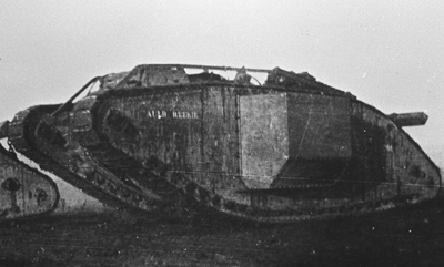 Mark IV supply tank