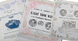Tank Bank commemorative napkins from The Tank Museum colleciton