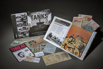 Tanks: 100 years of armoured warfare has removable documents of historical importance