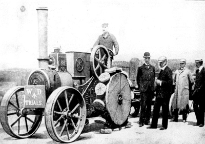 The Forster Pedrail Steam Tractor