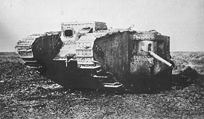 Tank 799 shortly after capture.