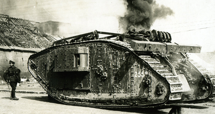 Mark IV female tank