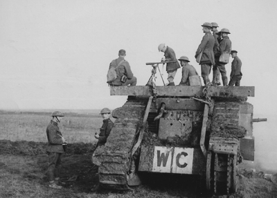 Wire Crushing tank Cambrai