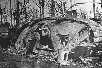 Grasshopper II knocked out in Bourlon