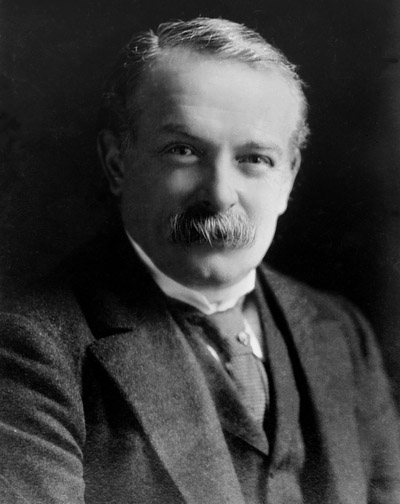 British Prime Minister David Lloyd-George