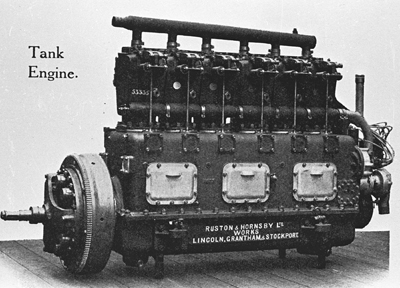 Mark V Ricardo Engine